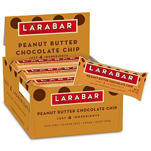Larabar, Gluten Free Bar, Peanut Butter Chocolate Chip, Vegan, 25.6 oz