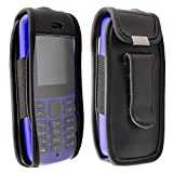 caseroxx Leather-Case with belt clip for Nokia 105 (2019)