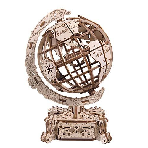 WOODEN.CITY- World Globe Puzzle Meccanico, WR341