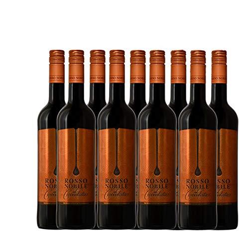 Rosso Nobile al Cioccolata 9x0,75 lieblich