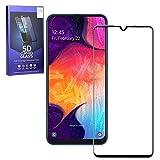 MOELECTRONIX 5D Komplett FullCover 9H Glas Schutz Folie Screen passend für Samsung Galaxy S9 DuoS SM-G960F/DS