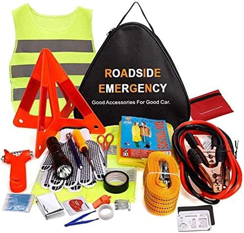 Adakiit Car Emergency Kit, Multifunctional Roadside...