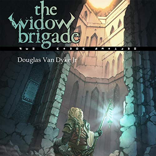 The Widow Brigade audiobook cover art