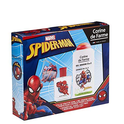 Coffret Spiderman Eau de Toilette + Toupie Lumineuse