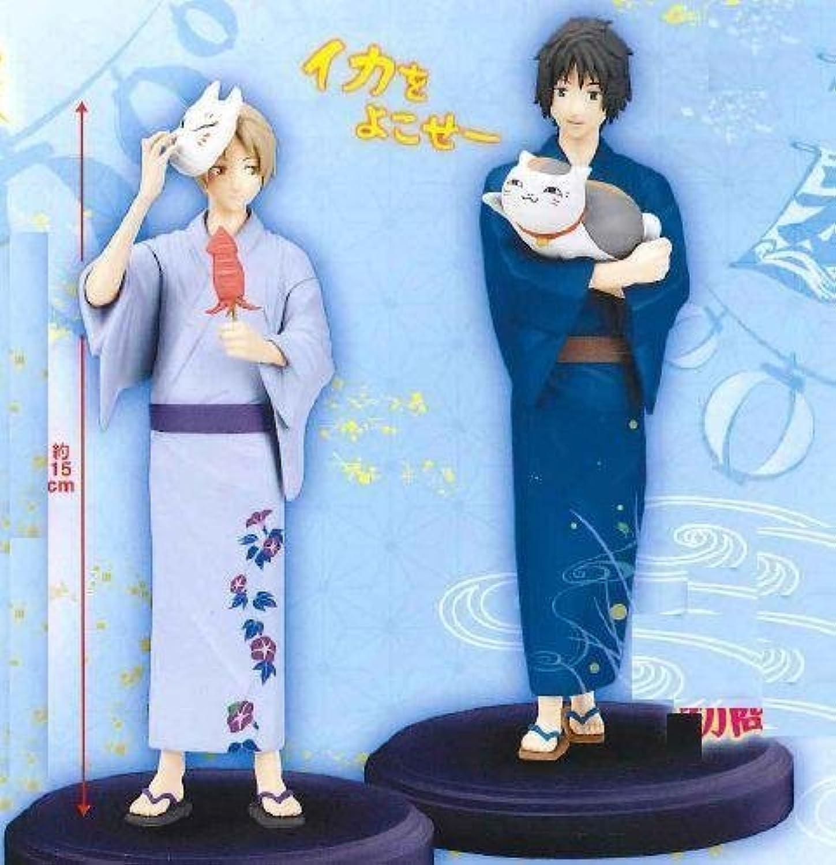 Full set of 2 Natsume Takashi Tanuma needed Natsume Yujin Cho DXF figure  Festival  (japan import)