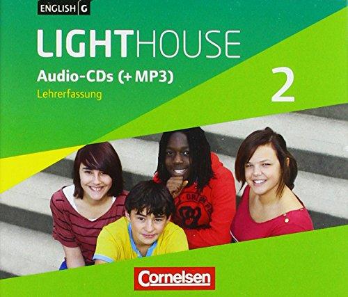 English G Lighthouse - Allgemeine Ausgabe: Band 2: 6. Schuljahr - Audio-CDs (Vollfassung): Audio-Dateien auch als MP3