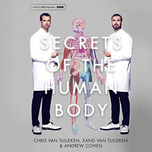 Secrets of the Human Body audiobook cover art