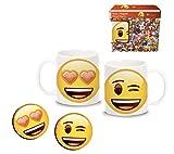 Emoji Set Tazza con Due magneti