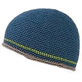 CHARM イスラムワッチ 帽子 [ フリーサイズ/ブルー ] イスラム帽 ダブルライン 手編み コットン