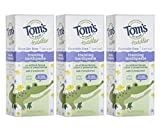 Luxury Beauty & Personal Care! - Tom's of Maine Fluoride-Free Toddler Training Toothpaste, Mild Fruit, 1.75 oz. 3-Pack