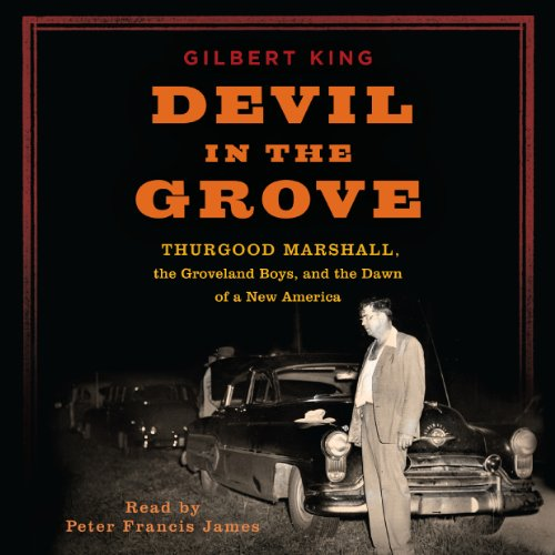 Devil in the Grove audiobook cover art
