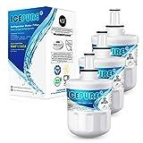 ICEPURE DA29-00003G Replacement for Samsung DA29-00003B DA29-00003A, Aqua-Pure Plus DA29-00003D DA29-00003F DA97-06317A, HAFCU1, WF289, WSS-1 WFC2201 HDX FMS-1 RWF1100A Refrigerator Water Filter 3PACK