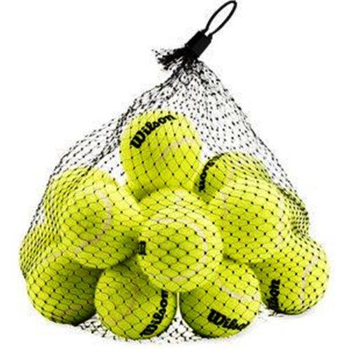 Wilson Pressureless Tennis Balls - 18 Ball Bag