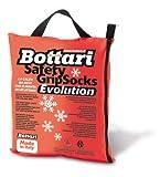 Bottari 68056: Calze da neve per auto, Taglia M, Prodotto compatibile con tutti gli pneumatici estivi, 4 stagioni o invernali
