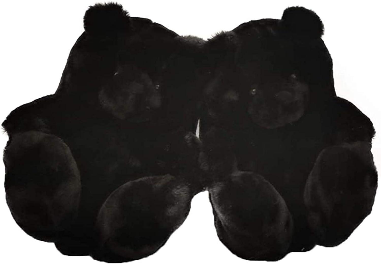 Women Cute Animal Plush Teddy Indoor Ranking TOP9 Home Bear Slippers Popular popular