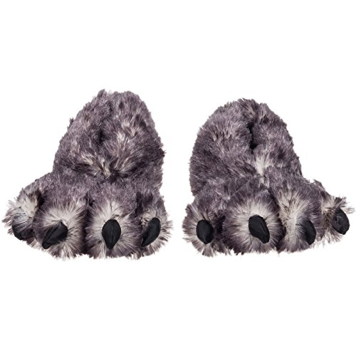 Wishpets Stuffed Animal - Soft Plush Toy for Kids - 15' Black Tip Claw Slippers