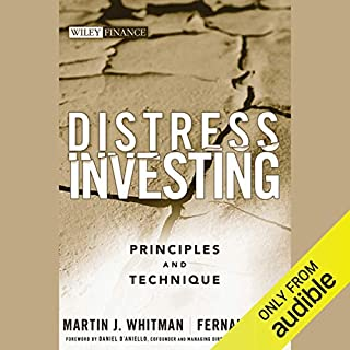 Distress Investing audiobook cover art