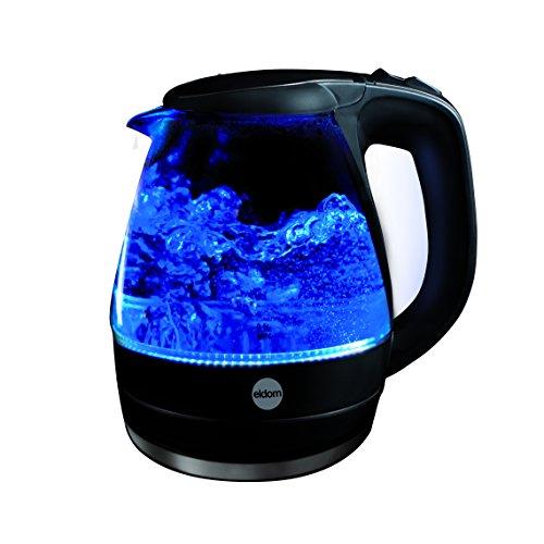 Bouilloire electrique en verre Illumine ELDOM C400 1,5 l 2000 W