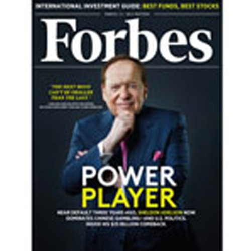 Forbes, February 27, 2012 cover art