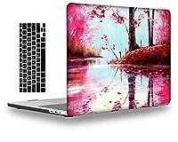 iLoverプラスチックシェルケースカバー互換性のみ2015-2012リリースMacBook Pro 13インチ網膜ディスプレイ(CD-ROM/タッチなし)モデル: A1425/A1502 (FJ12)