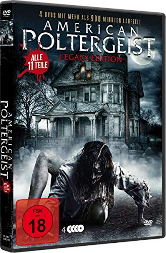 American Poltergeist 1-11 Legacy Box-Edition (4 DVDs/uncut)
