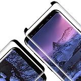 Protector Pantalla para Samsung Galaxy S9, [2 Piezas] Cristal Templado para Galaxy S9, [3D Cobertura Completa] [9H Dureza] [Resistente a Arañazos] Vidrio Templado para S9