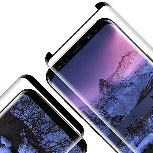 Pellicola Protettiva in Vetro Temperato per Samsung Galaxy S9, [2 Pezzi] [durezza 9H] [Alta Trasparente] [Nessuna Bolla] [Anti-Impronte][Anti graffio] [Copertura Completa]