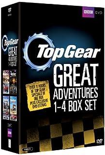 Top Gear - The Great Adventures 1-4 Box Set [Reino Unido] [DVD]