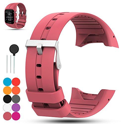 Para Polar M400 GPS banda de reloj inteligente, Polar M430 Unisex Adulto correa de reloj de GPS para adultos - iFeeker Accesorio de silicona suave de caucho reemplazo banda de reloj pulsera de banda para Polar M400 / M430 Unisex Adulto GPS Running Watch