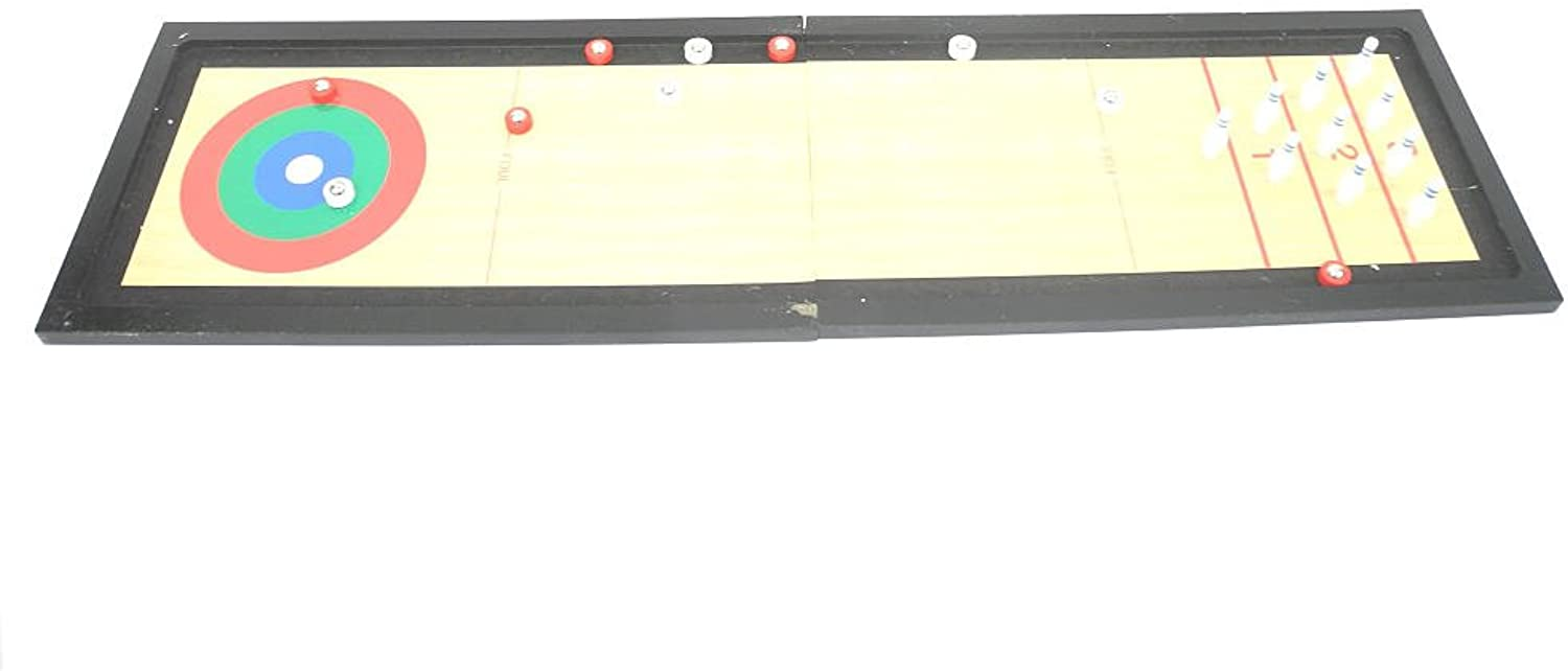 Stats 3-in-1 Tabletop Shuffle Board Game