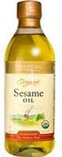Spectrum Naturals Organic Unrefined Sesame Oil, 8 Ounce -- 6 per case.
