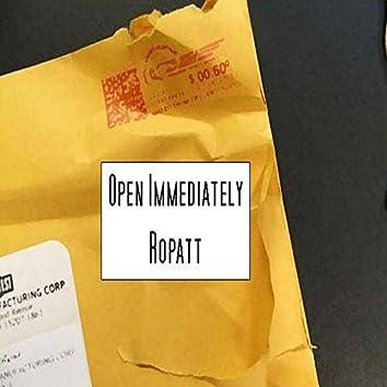 Open Immediately