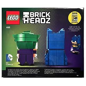 Amazon.co.jp - LEGO BrickHeadz DC Batman & The Joker(SDCC Exclusive) 41491 (バットマン&ジョーカー)