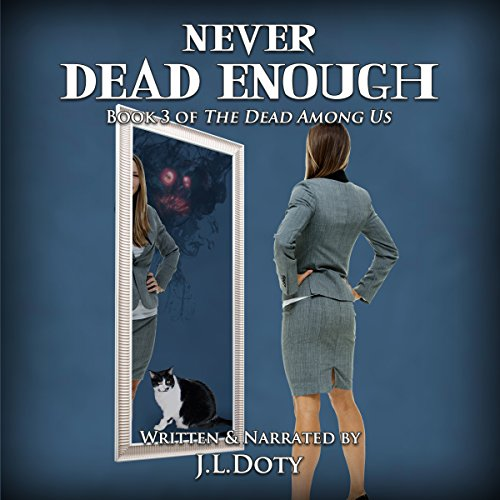 Never Dead Enough audiobook cover art