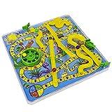 Atrumly Atrumly, juego de mesa de serpiente 3D con escalera, juguete tradicional familiar, regalo divertido para niños y niñas