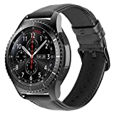 iBazal 22mm Bracelets Cuir Bandes Compatible avec Samsung Gear S3 Frontier Classic,Galaxy Watch 46mm...