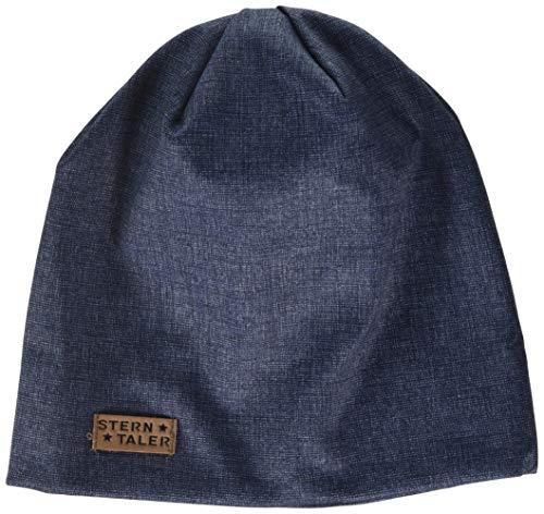Sterntaler Jungen Slouch Beanie Hat Mütze, Blau (Marine 300), Medium (Herstellergröße: 53)