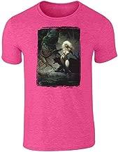 Princess and The Panther by Frank Frazetta Art Short Sleeve T-Shirt