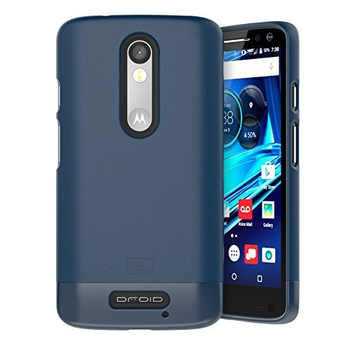 Encased Motorola Droid Turbo 2 Case, (SlimSHIELD Edition) Ultra Slim Cover (Full Coverage) Hybrid...