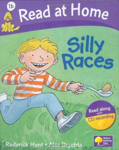 Read at Home: 1b: Silly Races Book + CD (Read at Home Level 1b)の詳細を見る