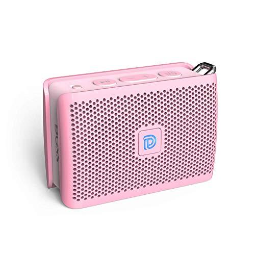 DOSS Genie Small Music Box Mini Bluetooth-luidspreker Draagbare draadloze luidspreker met handsfree-functie, micro SD-kaartsleuf, 3,5 mm AUX-IN voor iOS- en Android-smartphones