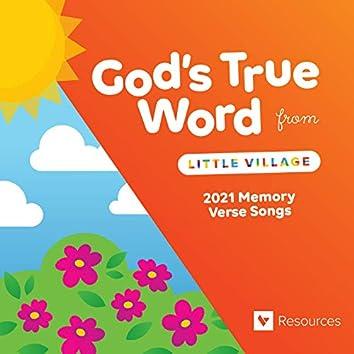 God's True Word: 2021 Memory Verse Songs