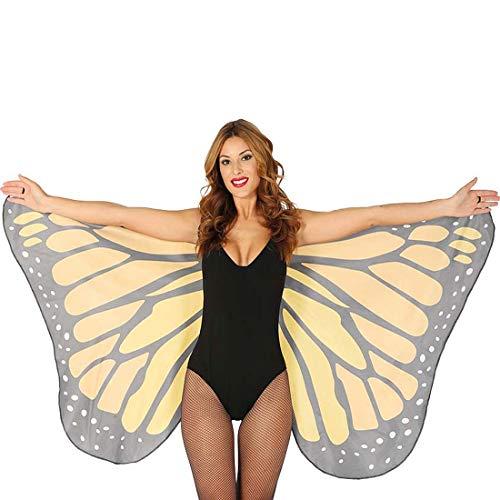 Alas Grandes Mariposa para Adulto / 170x80cm / Capa con alas de Hada/Incomparable para Carnaval y Fiestas temticas