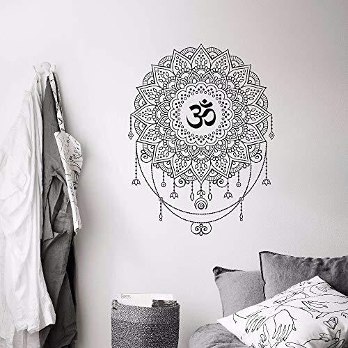 Geiqianjiumai geometrisch behang van de ohmse yoga-mandala-patroonwandafbeeldingen van Boheemse kunst