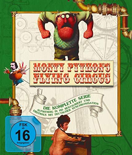 Monty Python's Flying Circus - Die komplette Serie auf Blu-Ray (Staffel 1-4) [Blu-ray]