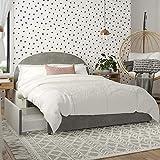 Mr. Kate Moon Upholstered Bed with Storage, Full Size Frame, Light Gray Velvet