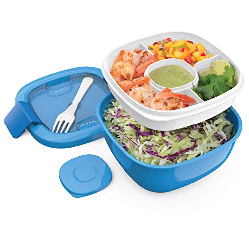 Our #2 Pick is the Bentgo Salad BPA-Free Lunch Box with Divider