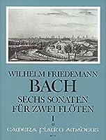 BACH W.F. - Sonatas (6) Vol.1: nコ 1 a 3 para 2 Flautas (Peter)