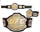 GT PRO Cinturón de campeonato UFC Ultimate Fighting Replica Cinturones de 50 pulgadas de doble color, hecho a mano, nuevo tamaño de adulto 51 pulgadas