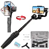 FeiyuTech Vimble 2S 3-Axis Handheld Gimbal Stabilizer for iPhone 11 Xs Max XR X 8 Smartphone for Samsung Galaxy Note10/10+ S10 S9 POV Hitchcock Panorama Face Object Tracking Timelapse